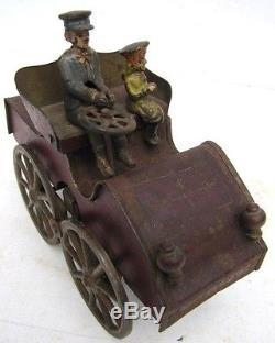 Clark Hillclimber antique car cast iron
