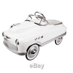 Comet Pedal Car White