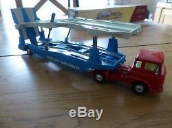 Corgi Major Toys 1105 Carrimore Car Transporter Boxed Vintage