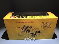 Corgi Toys 266 Chitty Chitty Bang Bang Vintage Car Set Boxed Complete Set Rare