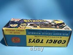 Corgi Toys Vintage 267 Batman Batmobile Car Original Outer Box Excellent Rare