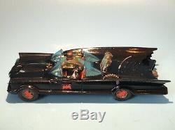 Corgi Toys Vintage 267 Batman Batmobile Car Rare Mki Issue Very Good Condition