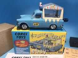 Corgi Toys Vintage 474 Walls Ice Cream Van Ford Thames Boxed Set Hornby Re-issue