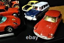 Corgi Toys. Vintage Estate Collection of 9 cars, 143 scale