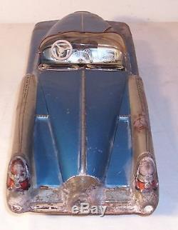 Cragstan 1951 Continental Super Special Buick Concept Large Tin Toy Car Germany