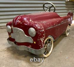 Cyclops Early Vintage Australian Tin Toy Pedal Car