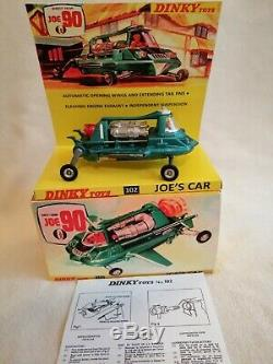 Dinky Toys 102 vintage joe 90 car gerry Anderson TV series