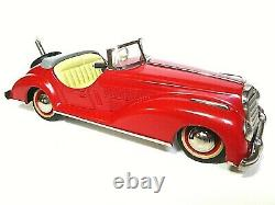 Distler Model Cars B-2727 Mercedes-Benz Convertible (ORIGINAL BOX & KEY)