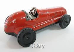 Early Rare Vintage Tin Friction Racer Racing Car Modern Toys K3 Mt 1950's Japan