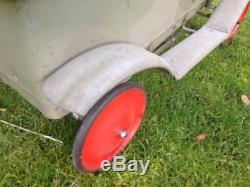 Early prewar childs ride in pedal car