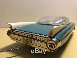Eldorado Tin Car Ussr Cadillac Japan Fleetwood Space Mechanical Remote Mint