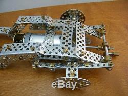 Erector Meccano Trix Bugatti Bauanleitung 86052 Bugatti Car 1/8 Kit