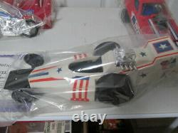 Evel Knievel Evel Knievel's Jump Motorcycle, Dragster & Funny Car EXTREME SET