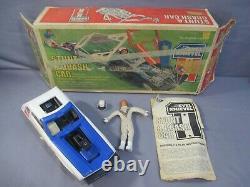 Evel Knievel STUNT & CRASH CAR Set with Box Vintage 1974 Ideal