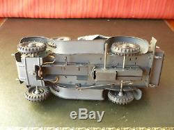 Extremely Rare 1930's Hausser Tin Wind-up Military Kubelwagen Staff Car Lineol