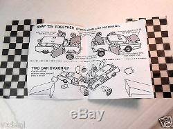 First Complete Kenner Ssp Smash Up Derby Demolition Promo Car Box W Directions