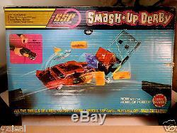 First Complete Kenner Ssp Smash Up Derby Demolition W Sonic Sound Promo Car Box