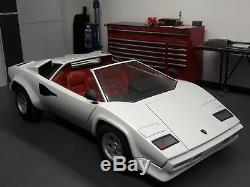 FREE TRANSPORT! RARE Lamborghini Countach kid car Agostini Junior car replica