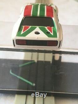 Faller Aurora Afx Ho Slot Car Capri Alitalia #1 G- Plus # 5634 V. Rare, Vintage