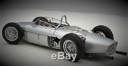 Ferrari Formula 1 Vintage Concept 12 Race Car Rare Carousel Silver GP F Sport 18