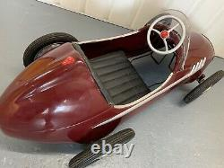Ferrari Racer Metal Pedal Car, Italy, 1950s