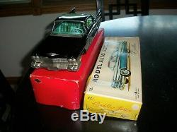 Friction toy cadillac 721 model auto series big car a real beauty in box 13 inch