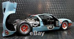 GT40 1967 Ford Sport Car 64 Race 43 Concept 1 GT 12 Vintage 24 Carousel Blue 18