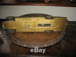 GUNTHERMANN GOLDEN ARROW LAND SPEED CAR 1929 CLOCKWORK GERMANY tinplate tin toy