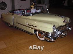 Gama Cadillac convertible 350 tin car friction drive antique toy no Marusan Alps