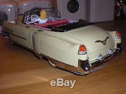 Gama Cadillac convertible 350 tin car friction drive antique toy no Marusan Alps