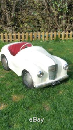 Genuine Barn Find Austin J40 pedal car Original and only 1 owner from new