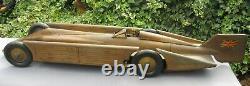 Gunthermann Record car 54cm clockwork original box key driver works Germany bing