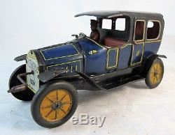 Hessmobil 1024 Tp Limousine Car, Crankshaft Flywhell Mechanism C1920's