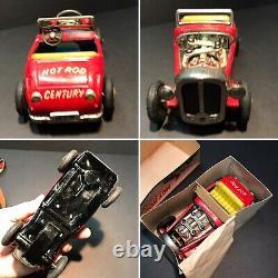 Hot Rod Tin Friction Car Vintage Japan T. N Nomura