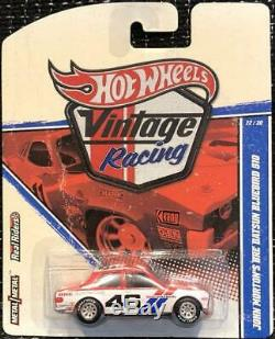 Hot Wheels Vintage Racing Series JOHN MORTON'S BRE Datsun Bluebird 510 Mini Car