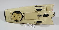 Ichida Ford Gyron Concept Car Battery Op. Vtg Tin Japan, Yonezawa, Masudaya, Nomura