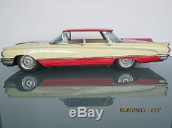 Ichiko 17.5 Buick Electra Flattop Friction Toy Car Made In Japan Rare No Res