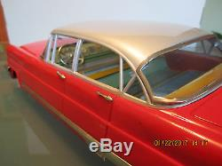 Ichiko 1956 Lincoln 17 Friction Toy Car Made In Japan No Reserve