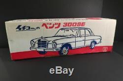 ICHIKO Mercedes Benz W112 300SE Coupe 24 Tin Toy Car Mint + Box Japan 1968