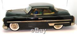 Ichiko Fat Boy 1953 Pontiac Coupe 14 Friction Tin Toy Car Rare