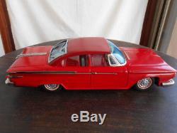 Ichiko japanese vintage tinplate vehicles car toys Prims length 32.0cm very rare