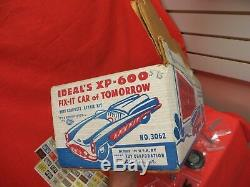 Ideal Xp-600 Vintage 1954 Fix It Repair Kit Car With Box Ex Employee