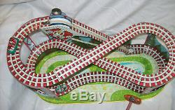 J Chein Roller Coaster with 2 CARS
