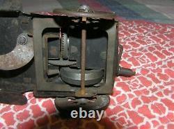 J L Hess Early 1900's Tin Hessmobil Friction Flywheel Car for Restoration/Parts