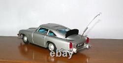 James Bond 007 Aston Martin DB5 Metal Car A. C. Gilbert 1965 Made in Japan