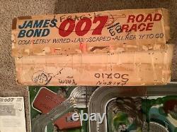 James Bond 007 Road Race Slot Car Track Set 1965 Original Sears Set