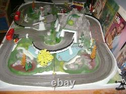 James Bond 007 Road Race Slot Car Track Set 1965 Original Sears Set AC Gilbert