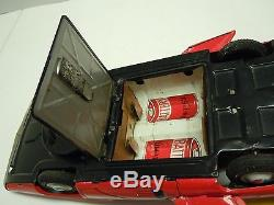Japan ALPS 1964 Tin Battery Op. Fire Bird lll Concep Car with BOX. A+. Works. NR