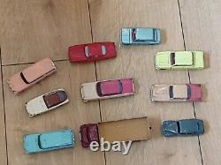 Joblot Vintage Dinky Meccano Diecast Model Toys Classic Cars Lorry Ford Alfa Etc