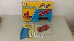Kenner 1974 TTP Turbo Tower Power Ultra Chrome Car Set Box Mint In Box No Tower